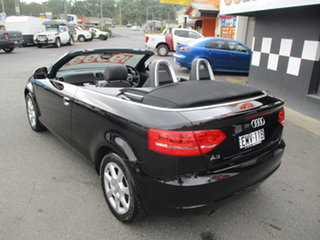 2009 Audi A3 8P 1.6 Attraction Black 5 Speed Manual Cabriolet.