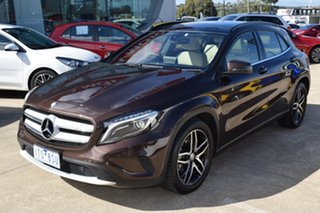 2016 Mercedes-Benz GLA-Class X156 806MY GLA180 DCT Brown 7 Speed Sports Automatic Dual Clutch Wagon.