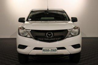2016 Mazda BT-50 UR0YE1 XT 4x2 Hi-Rider White 6 speed Automatic Cab Chassis.