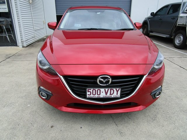 Used Mazda 3 BM5438 SP25 SKYACTIV-Drive GT Caboolture, 2014 Mazda 3 BM5438 SP25 SKYACTIV-Drive GT Red 6 Speed Sports Automatic Hatchback