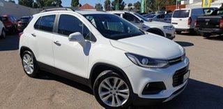 2018 Holden Trax TJ MY18 LTZ White 6 Speed Automatic Wagon.