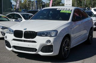 2016 BMW X4 F26 xDrive35d Coupe Steptronic White 8 Speed Automatic Wagon