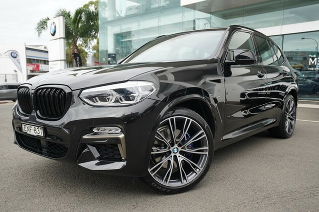 Used BMW X3 G01 M40I Brookvale, 2019 BMW X3 G01 M40I Black Sapphire 8 Speed Automatic Wagon