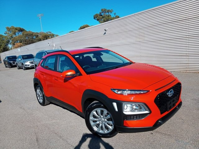 Used Hyundai Kona OS.2 MY19 Go 2WD Elizabeth, 2019 Hyundai Kona OS.2 MY19 Go 2WD Orange 6 Speed Sports Automatic Wagon