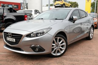 2015 Mazda 3 BM SP25 Silver 6 Speed Manual Sedan.