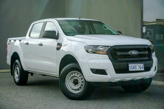 Used Ford Ranger PX MkII 2018.00MY XL Hi-Rider Osborne Park, 2017 Ford Ranger PX MkII 2018.00MY XL Hi-Rider White 6 Speed Sports Automatic Utility
