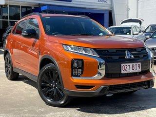 2020 Mitsubishi ASX XD MY21 GSR 2WD Sunshine Orange 6 Speed Constant Variable Wagon.