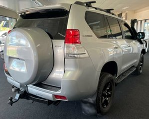 2010 Toyota Landcruiser Prado KDJ150R GXL Silver 5 Speed Sports Automatic Wagon.