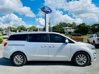2019 Kia Carnival YP MY19 SI Silky Silver 8 Speed Sports Automatic Wagon.