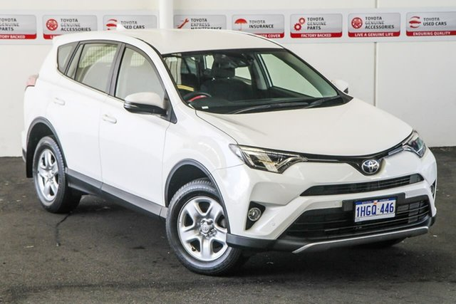 Pre-Owned Toyota RAV4 ZSA42R MY18 GX (2WD) Myaree, 2017 Toyota RAV4 ZSA42R MY18 GX (2WD) Glacier White Continuous Variable Wagon