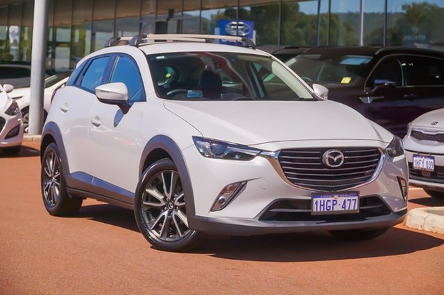 Used Mazda CX-3 DK2W7A sTouring SKYACTIV-Drive Gosnells, 2016 Mazda CX-3 DK2W7A sTouring SKYACTIV-Drive Black 6 Speed Sports Automatic Wagon