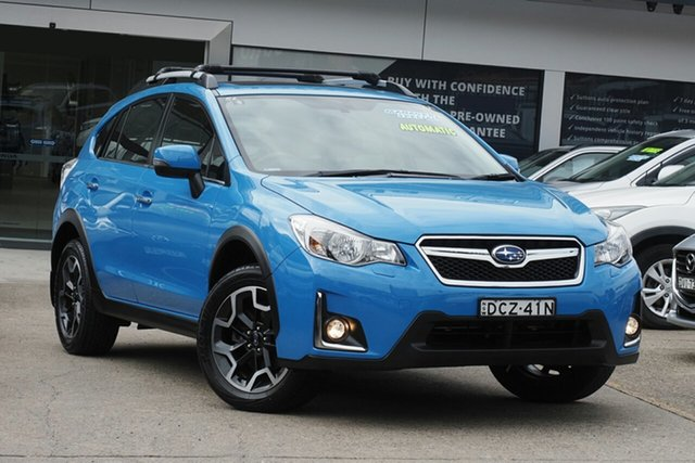 Used Subaru XV G4X MY16 2.0i-S Lineartronic AWD Homebush, 2016 Subaru XV G4X MY16 2.0i-S Lineartronic AWD Blue 6 Speed Constant Variable Wagon