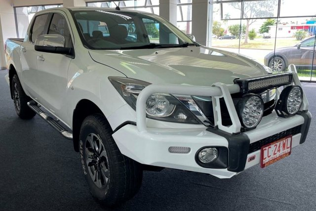 Used Mazda BT-50 UR0YF1 XTR Winnellie, 2015 Mazda BT-50 UR0YF1 XTR White 6 Speed Manual Utility