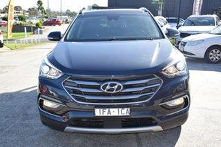 2014 Hyundai Santa Fe DM MY14 Highlander Blue 6 Speed Sports Automatic Wagon.