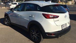 2017 Mazda CX-3 DK2W76 sTouring SKYACTIV-MT White 6 Speed Manual Wagon.