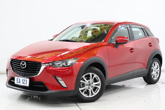 Used Mazda CX-3 DK2W7A Maxx SKYACTIV-Drive Brooklyn, 2017 Mazda CX-3 DK2W7A Maxx SKYACTIV-Drive Red 6 Speed Sports Automatic Wagon