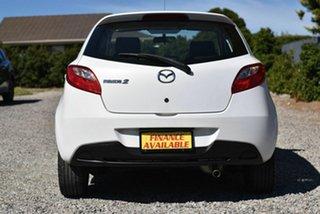 2009 Mazda 2 DE10Y1 Genki White 4 Speed Automatic Hatchback