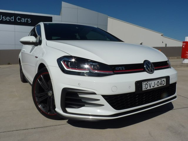 Pre-Owned Volkswagen Golf 7.5 MY17 GTI DSG Blacktown, 2017 Volkswagen Golf 7.5 MY17 GTI DSG White 6 Speed Sports Automatic Dual Clutch Hatchback
