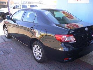 2011 Toyota Corolla ZRE152R MY11 Ascent Black 4 Speed Automatic Sedan.