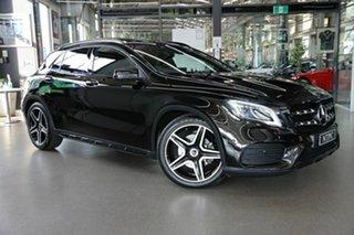 2018 Mercedes-Benz GLA-Class X156 809MY GLA220 d DCT Black 7 Speed Sports Automatic Dual Clutch.
