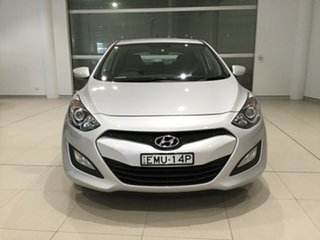 2012 Hyundai i30 GD Active Silver Or Chrome/gd 6 Speed Sports Automatic Hatchback
