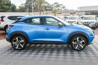 2020 Nissan Juke F16 ST-L DCT 2WD Vivid Blue 7 Speed Sports Automatic Dual Clutch Hatchback.