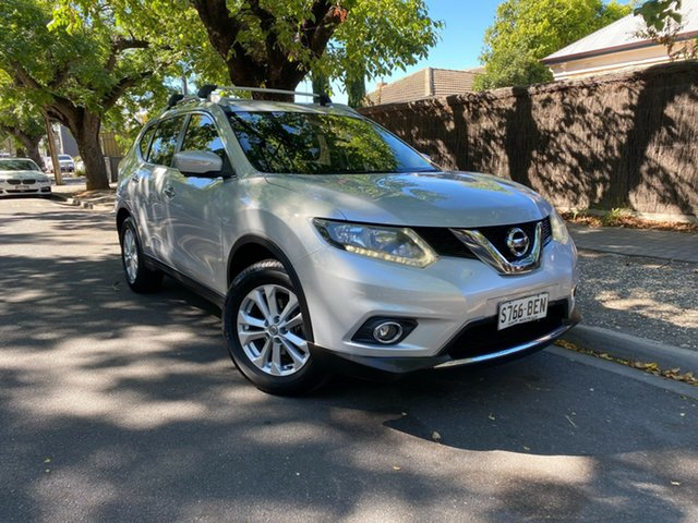 Pre-Owned Nissan X-Trail T32 ST-L X-tronic 2WD Hawthorn, 2014 Nissan X-Trail T32 ST-L X-tronic 2WD Silver 7 Speed Constant Variable Wagon