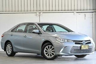 2016 Toyota Camry AVV50R Altise Ocean Mist 1 Speed Constant Variable Sedan Hybrid.