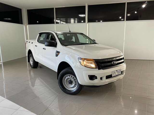 Used Ford Ranger PX XL Hi-Rider Deer Park, 2015 Ford Ranger PX XL Hi-Rider White 6 Speed Sports Automatic Utility