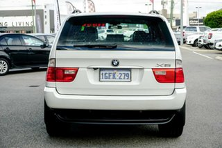 2006 BMW X5 E53 MY05 d Steptronic White 6 Speed Sports Automatic Wagon