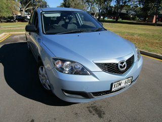 2007 Mazda 3 BK MY06 Upgrade Maxx Blue 5 Speed Manual Hatchback