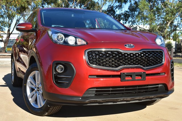 Used Kia Sportage QL MY18 Si 2WD St Marys, 2018 Kia Sportage QL MY18 Si 2WD Red 6 Speed Sports Automatic Wagon