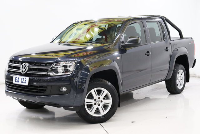 Used Volkswagen Amarok 2H MY17 TDI420 4MOTION Perm Core Plus Brooklyn, 2017 Volkswagen Amarok 2H MY17 TDI420 4MOTION Perm Core Plus Blue 8 Speed Automatic Utility