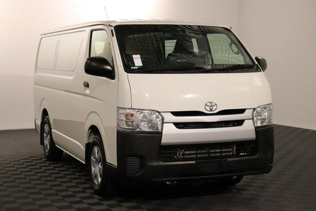 Used Toyota HiAce KDH201R LWB Acacia Ridge, 2016 Toyota HiAce KDH201R LWB French Vanilla 4 speed Automatic Van