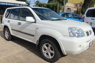 2007 Nissan X-Trail T30 MY06 TI (4x4) White 5 Speed Manual Wagon.