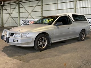2005 Holden Ute VZ Silver 4 Speed Automatic Utility.