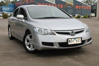 2007 Honda Civic MY07 VTi-L Silver 5 Speed Automatic Sedan.
