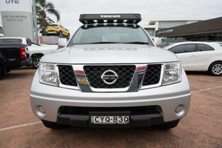 2014 Nissan Navara D40 RX Silverline SE (4x4) Silver 5 Speed Automatic Dual Cab Pick-up