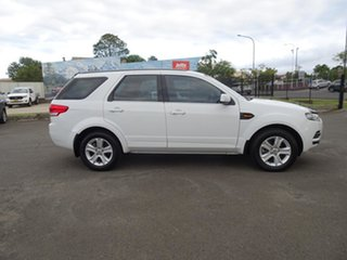 2014 Ford Territory SZ TX Seq Sport Shift Winter White 6 Speed Automatic Wagon