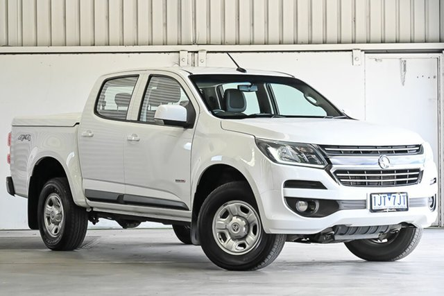 Used Holden Colorado RG MY16 LS Crew Cab Laverton North, 2016 Holden Colorado RG MY16 LS Crew Cab White 6 Speed Sports Automatic Cab Chassis