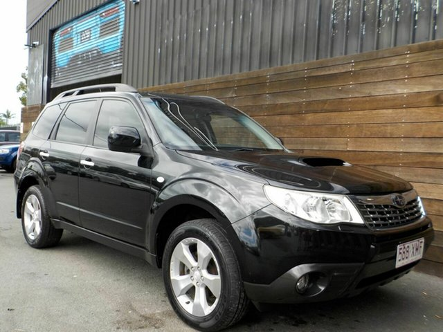Used Subaru Forester S3 MY10 XT AWD Labrador, 2009 Subaru Forester S3 MY10 XT AWD Black 5 Speed Manual Wagon