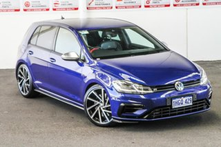 2017 Volkswagen Golf AU MY17 R Blue 6 Speed Direct Shift Hatchback.
