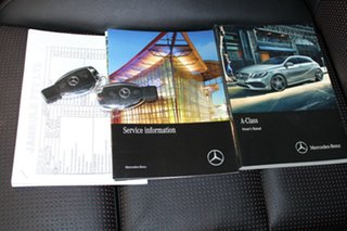 2016 Mercedes-Benz A-Class W176 807MY A250 D-CT 4MATIC Sport Silver 7 Speed.
