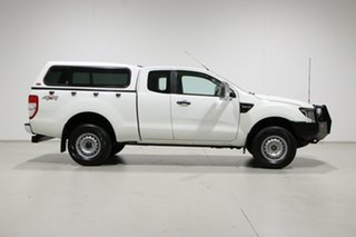 2013 Ford Ranger PX XL 3.2 (4x4) White 6 Speed Manual Super Cab Utility