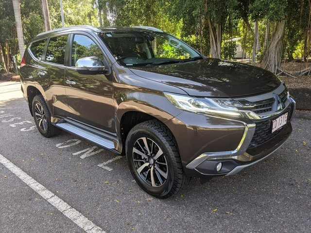 Used Mitsubishi Pajero Sport QE MY18 GLS Stuart Park, 2018 Mitsubishi Pajero Sport QE MY18 GLS Brown 8 Speed Sports Automatic Wagon