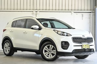 2016 Kia Sportage QL MY16 Si AWD White 6 Speed Sports Automatic Wagon.