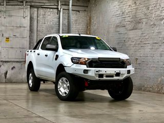 2017 Ford Ranger PX MkII XLS Double Cab White 6 Speed Sports Automatic Utility.