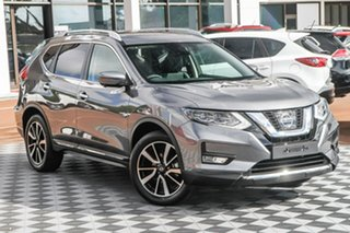 2020 Nissan X-Trail T32 Series II Ti X-tronic 4WD Gun Metallic 7 Speed Constant Variable Wagon.