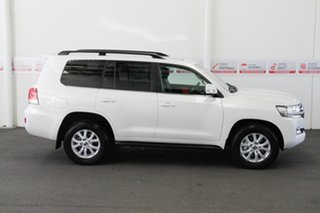 2020 Toyota Landcruiser VDJ200R VX Crystal Pearl 6 Speed Sports Automatic Wagon