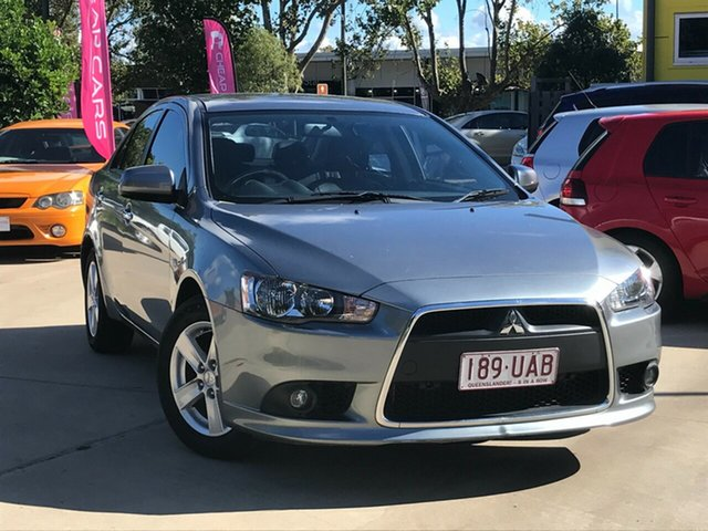 Used Mitsubishi Lancer CJ MY14.5 LX Toowoomba, 2014 Mitsubishi Lancer CJ MY14.5 LX Grey 6 Speed Constant Variable Sedan